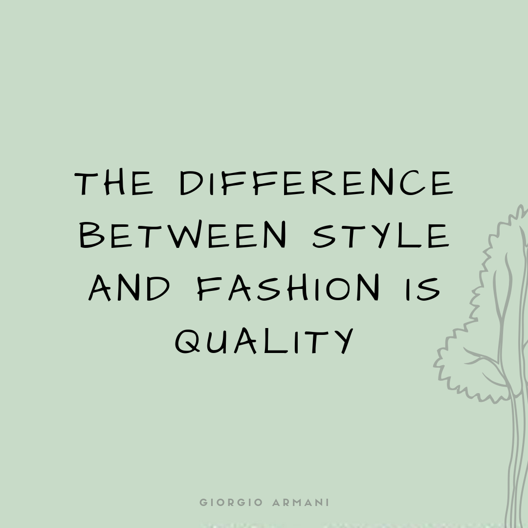 Sustainable & ethical fashion quotes