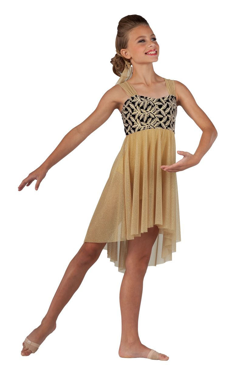 15468 Fields Of Gold   Lyrical Contemporary Dance Costumes ...