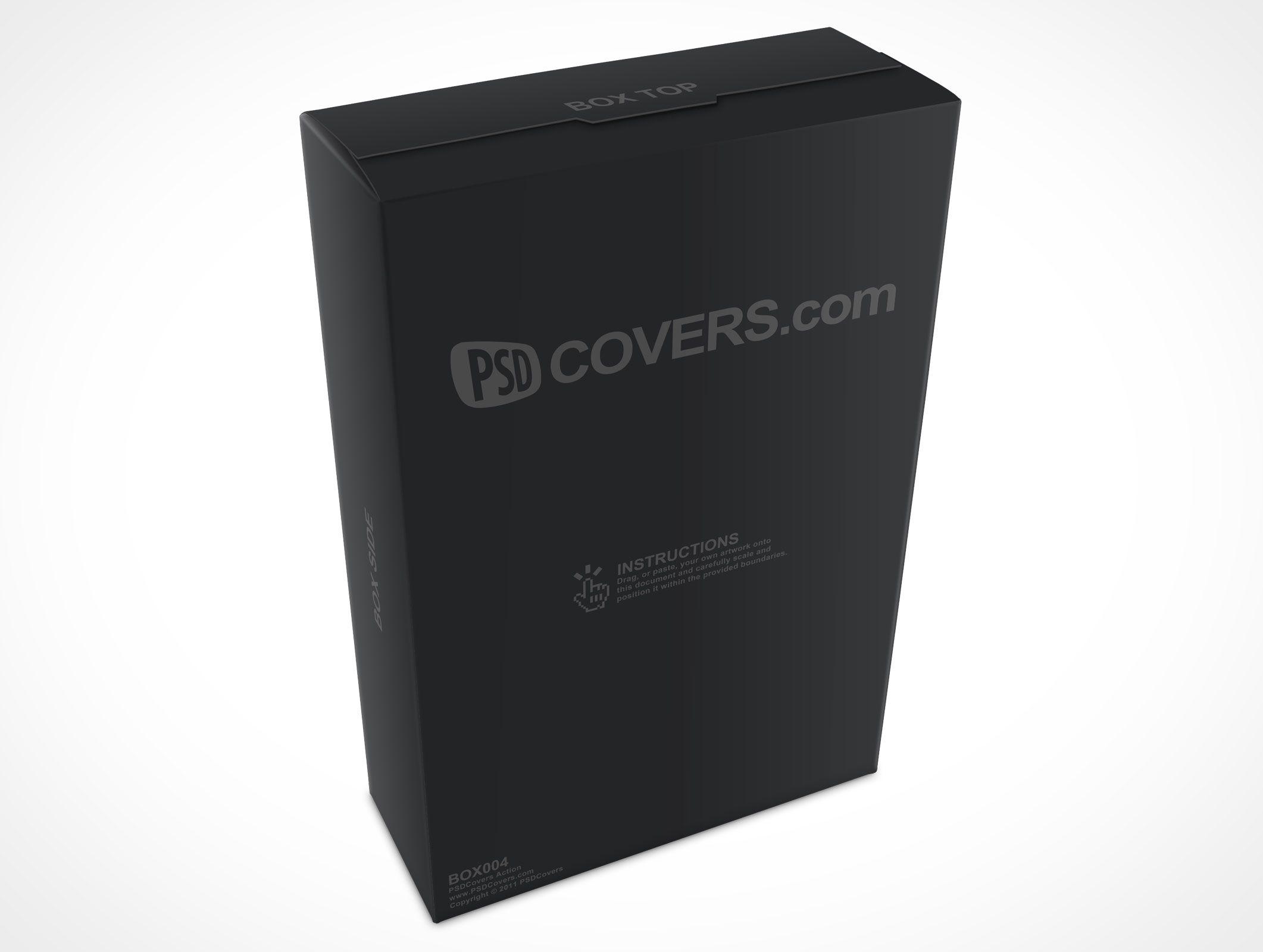 Download Box004 Market Your Psd Mockups For Box Psd Mockup Psd Design Freebie