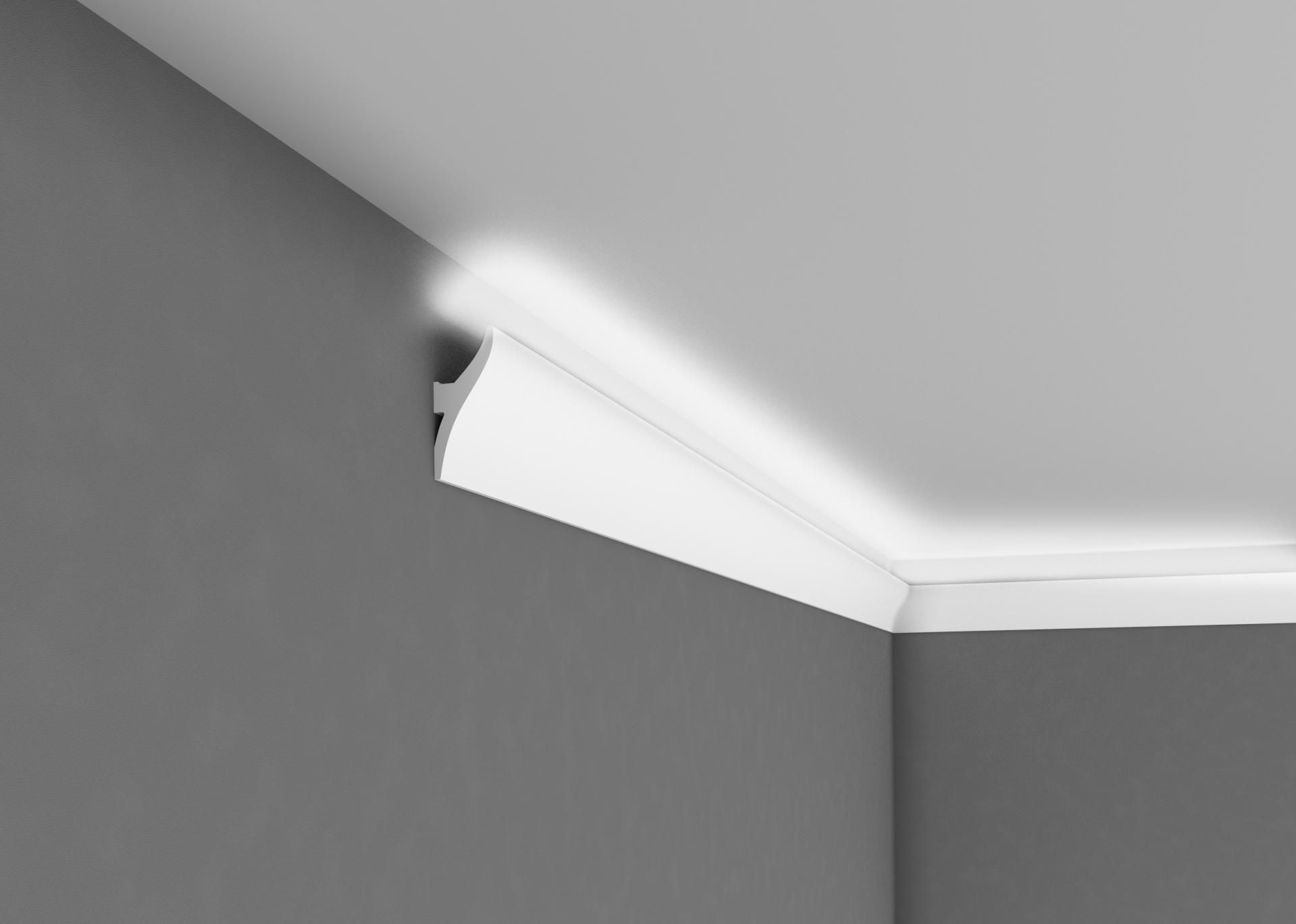 Corniche Polystyrène Pour Led corniche d'éclairage ql010 | eclairage led plafond