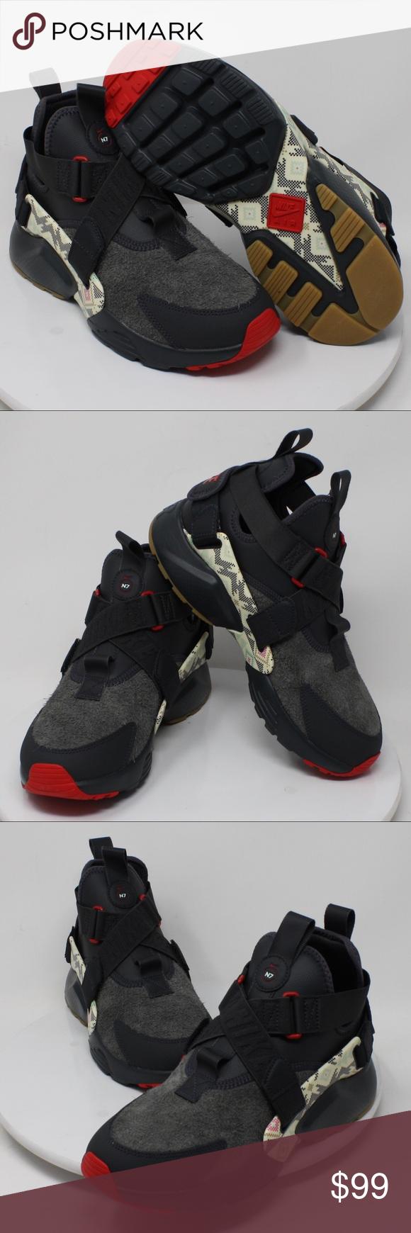 separation shoes ef2f2 5fd06 NIKE AIR HUARACHE CITY UTILITY PRM N7 AT6170 001 Women s Nike