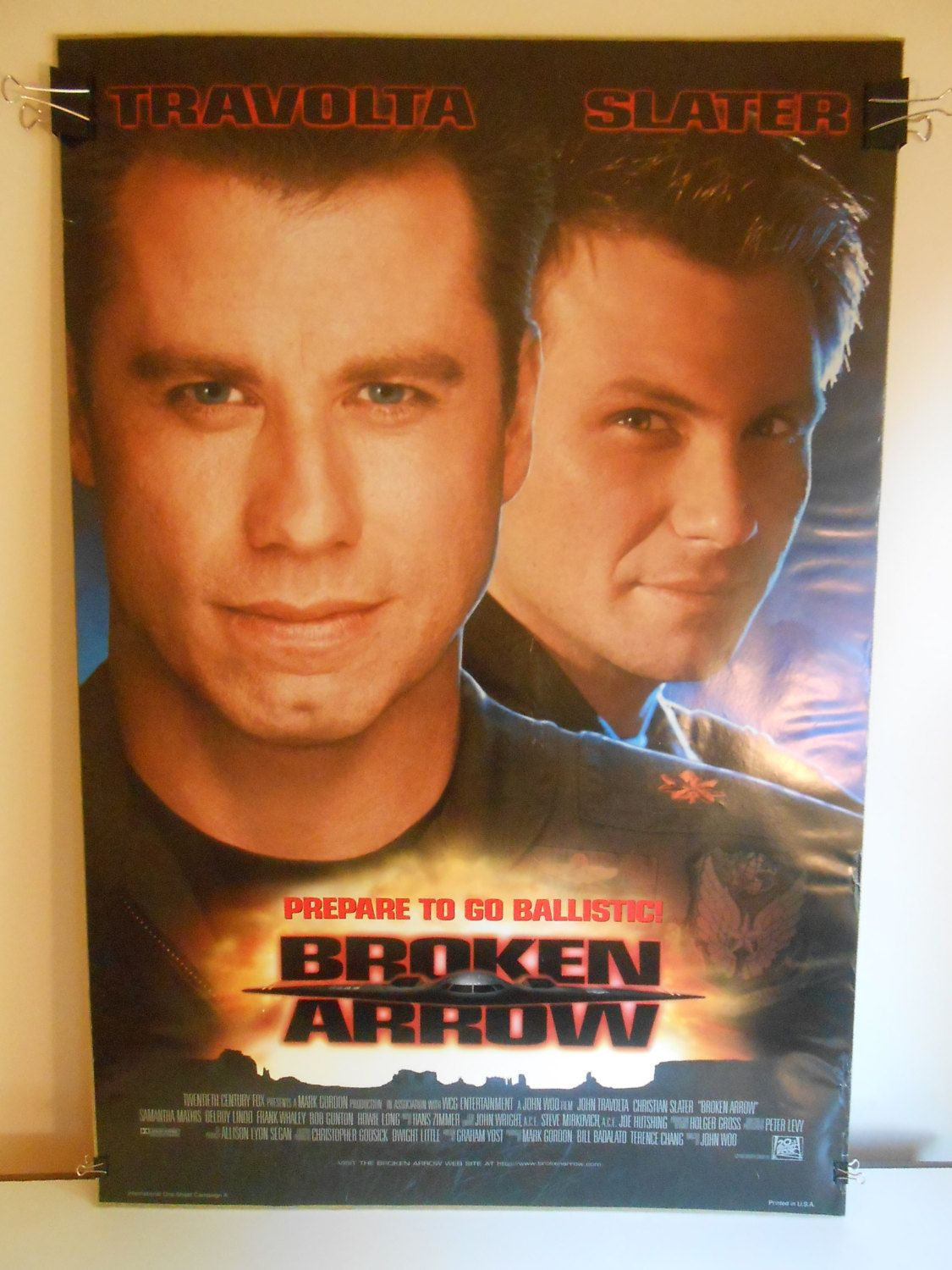 Drop Advance The Double Sided Original Movie Poster 27x40