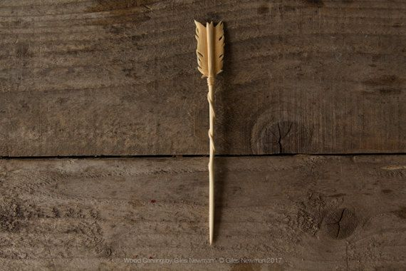 Traditional Carved Ebony Wooden Hair Pin Stick Original Retro Women Lady HOT