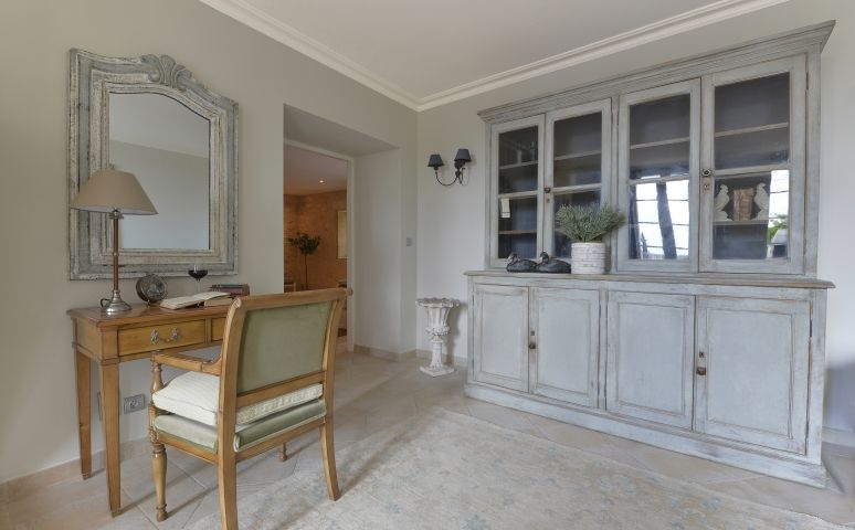French Style Home Office with our Emma Directoire Desk Chair in ...