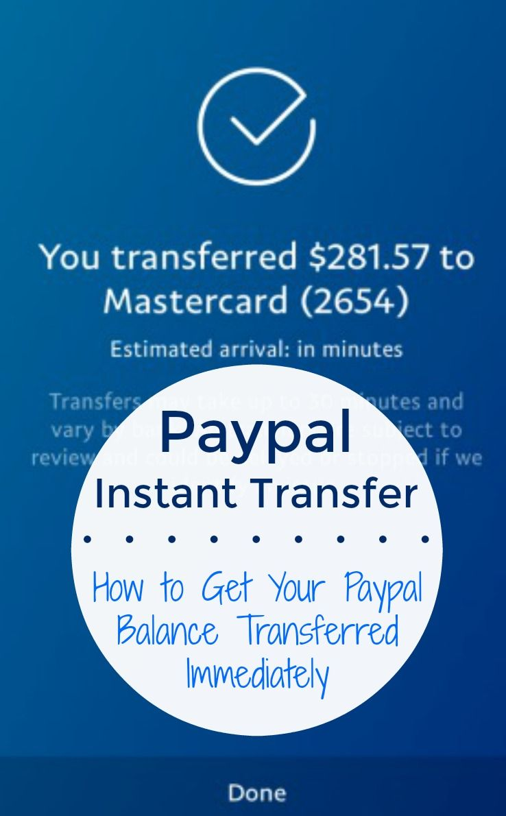 Tutorial: How to Use Paypal Instant Transfer for Immediate Access to