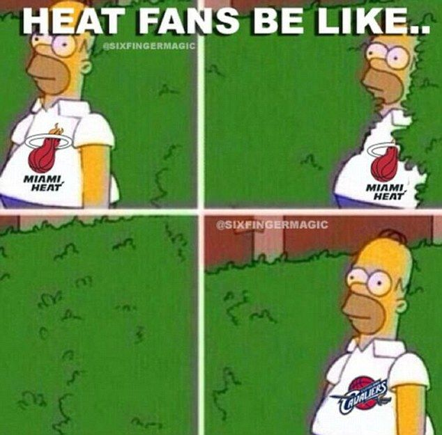 Despair In Miami Heat Fans Mourn The Loss Of King James Book Nerd Funny Pictures Hilarious