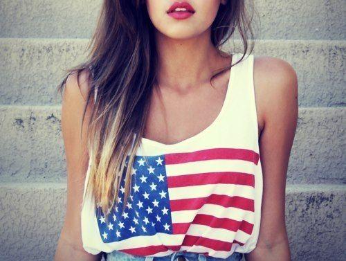 Flag shirt♥