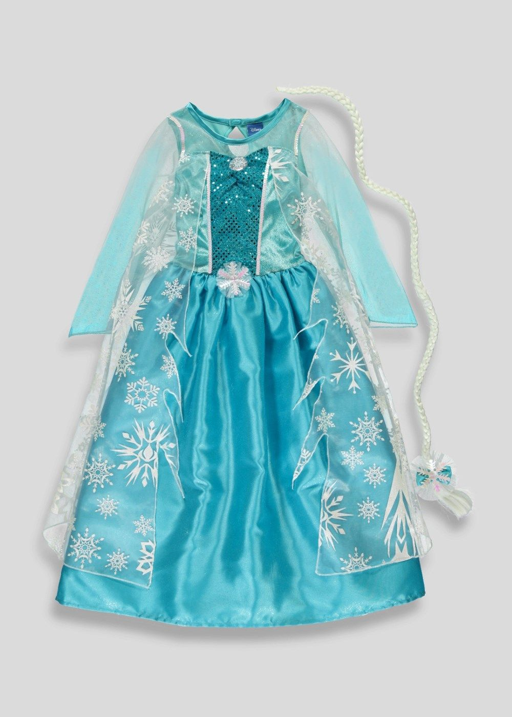 348d05b36e4ae Kids Disney Frozen Elsa Dress Up (3-9yrs) - Matalan | 4th bday ...