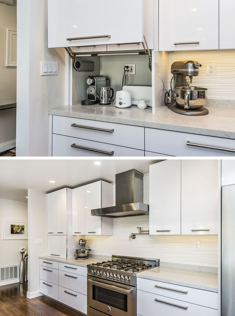kitchen appliance store lantern pendant lights for design idea your appliances in an a dedicated garage the hinges on this door make opening and closing