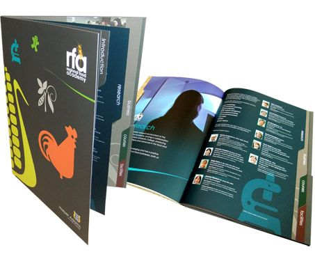 tabbed agi die cut pinterest graphic design brochure brochure