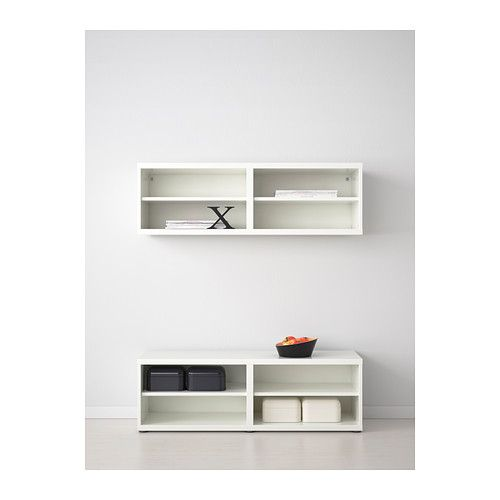 BEST Shelf unit/height extension unit - white - IKEA possible tv stand  lifted size
