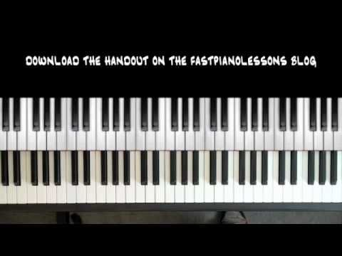 Easy Blues Piano Lessons 12 Bar Blues In C 8th Note Boogie Chords Blues Piano Piano Piano Music