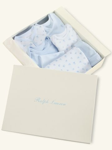 1e00fda292921 7-Piece Boy Box Set - Layette Outfits   Gift sets - Ralph Lauren UK ...