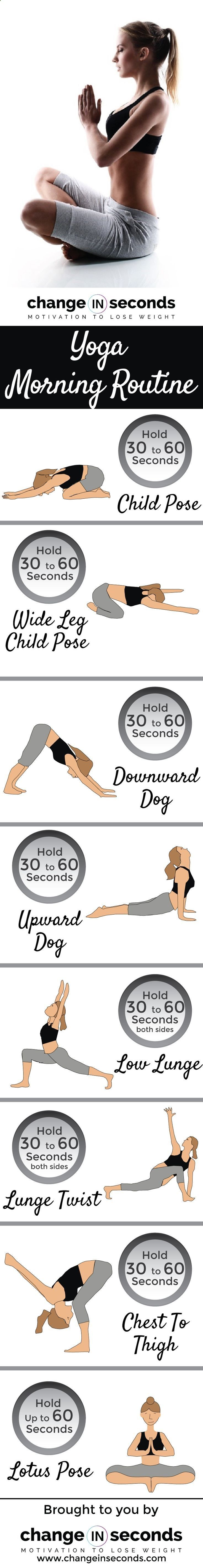 Easy Yoga Workout - Fitness Motivation : Yoga Morning ...