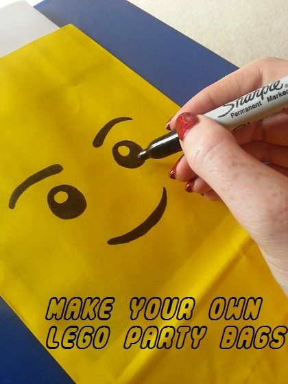 How To Make Easy Lego Party Bags More Than Mummies