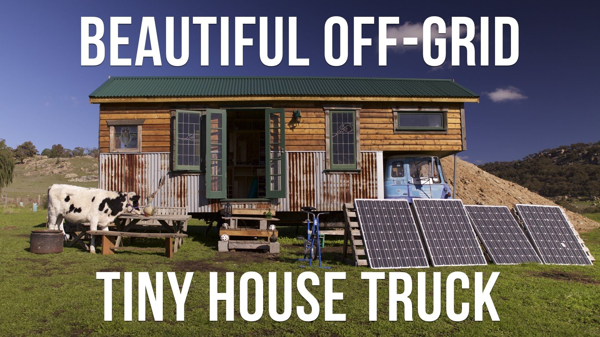 Beautiful Off-Grid Tiny House Truck Made From Reclaimed Materials ...