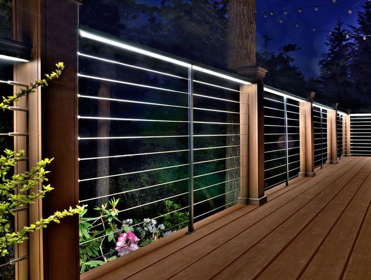 led cable rails - Google Search