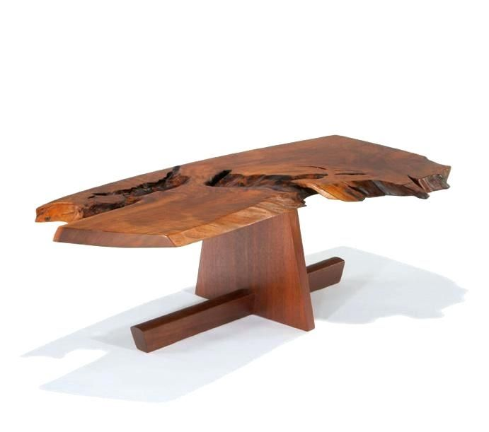 Coffee Table George Nakashima Coffee Table With Minguren Base