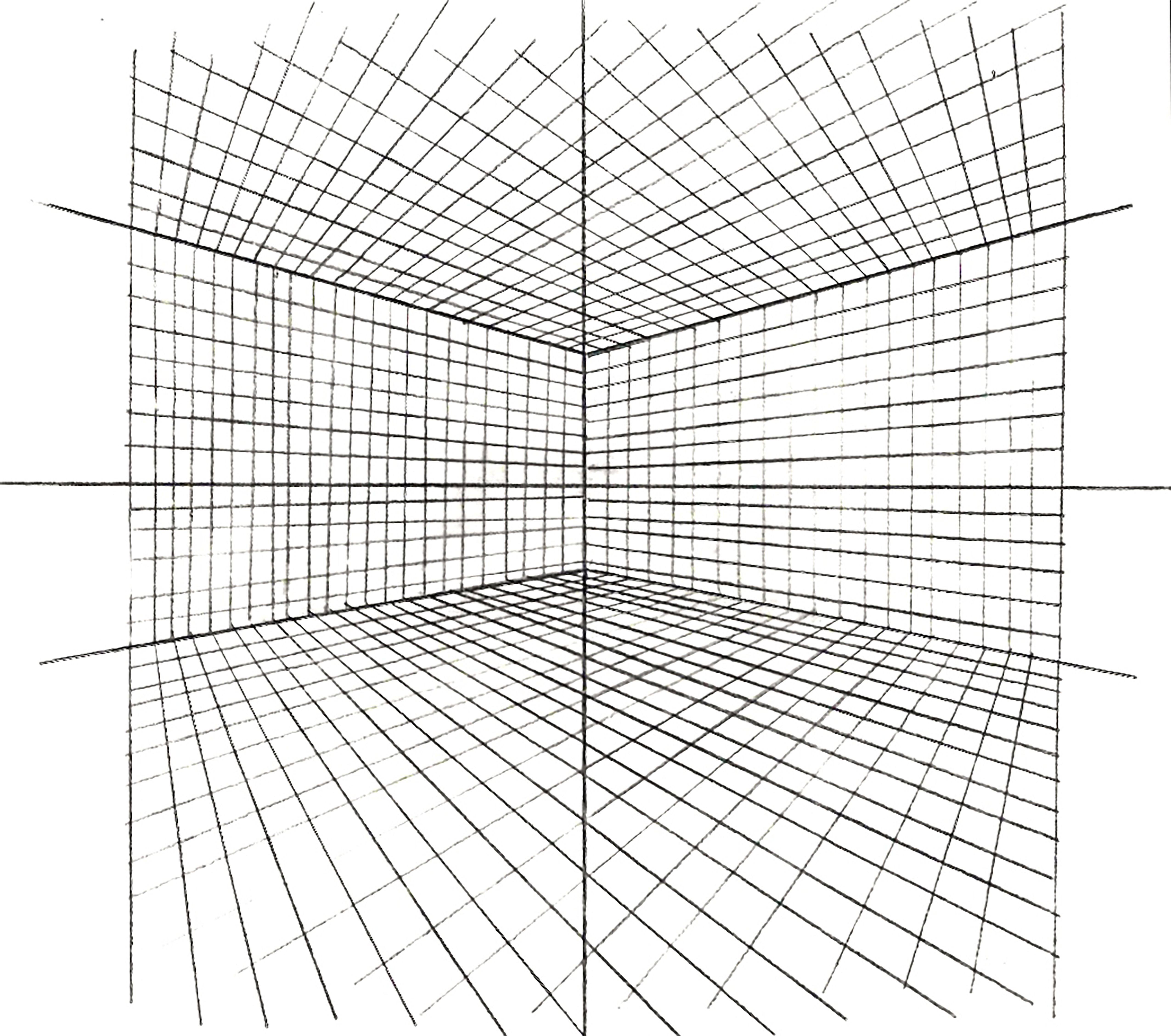Perspective, Drawing tutorial, Sketch book