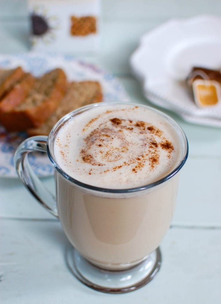 Homemade Chai Tea Latte - A Cedar Spoon