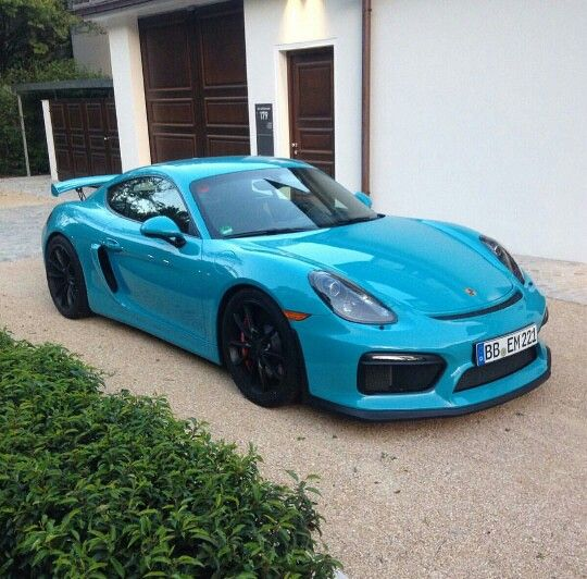Great Cayman GT4 but fucking ugly colour