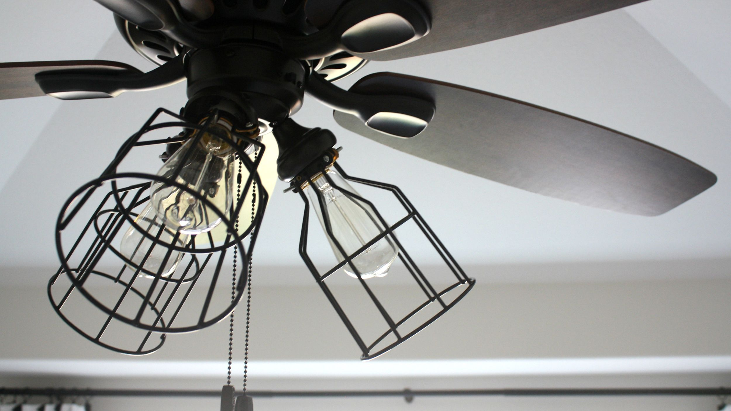 Give Your Ceiling Fan A Makeover With This Diy Ceiling Fan Light Kit Ceiling Fan Makeover Ceiling Fan