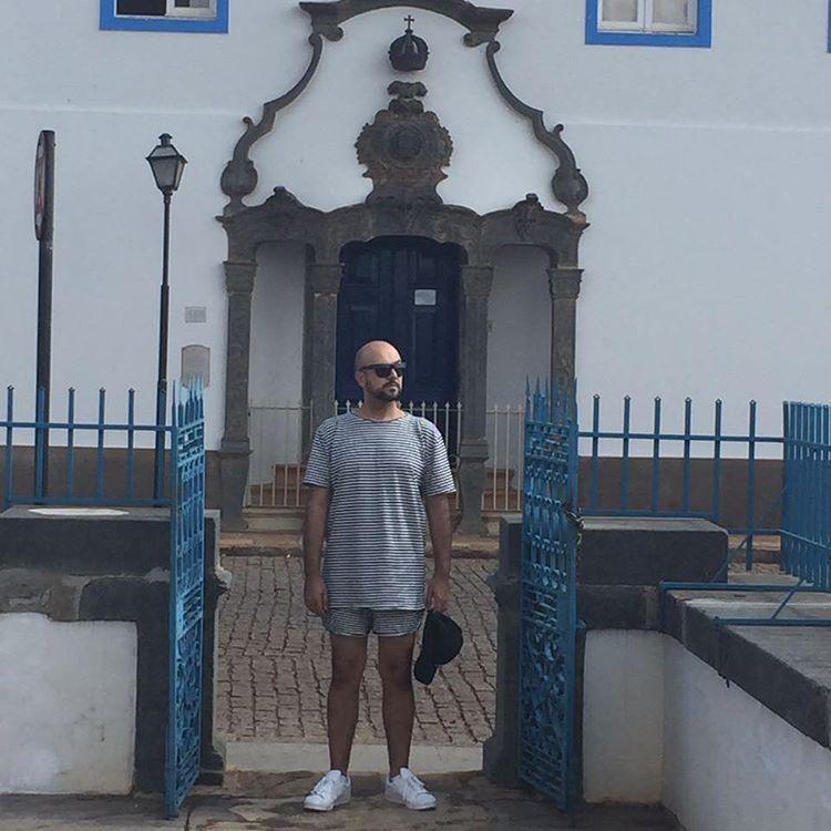White and blue.  #minasgerais #congonhas