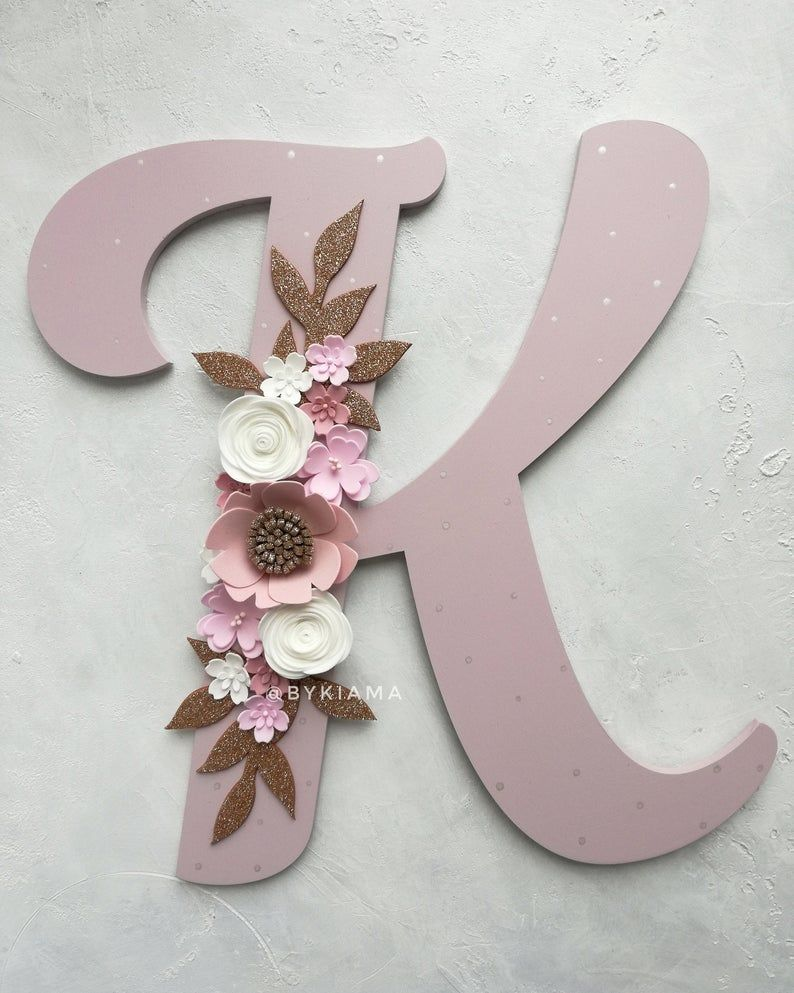 """Z Initials Names 7/"""" H Pink Girls Blue Boys Wooden Hanging Door Letters Gifts A"""