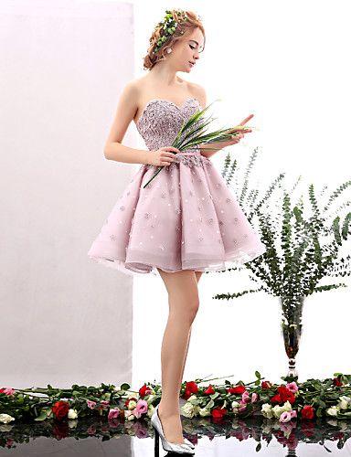 Vestidos de fiesta rosas baratos