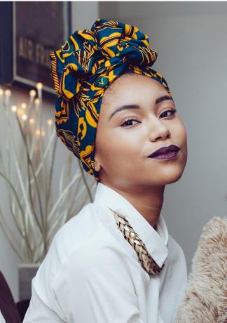 African Print head wrap// African Print Scarf African Hair Tie Ankara hair wra