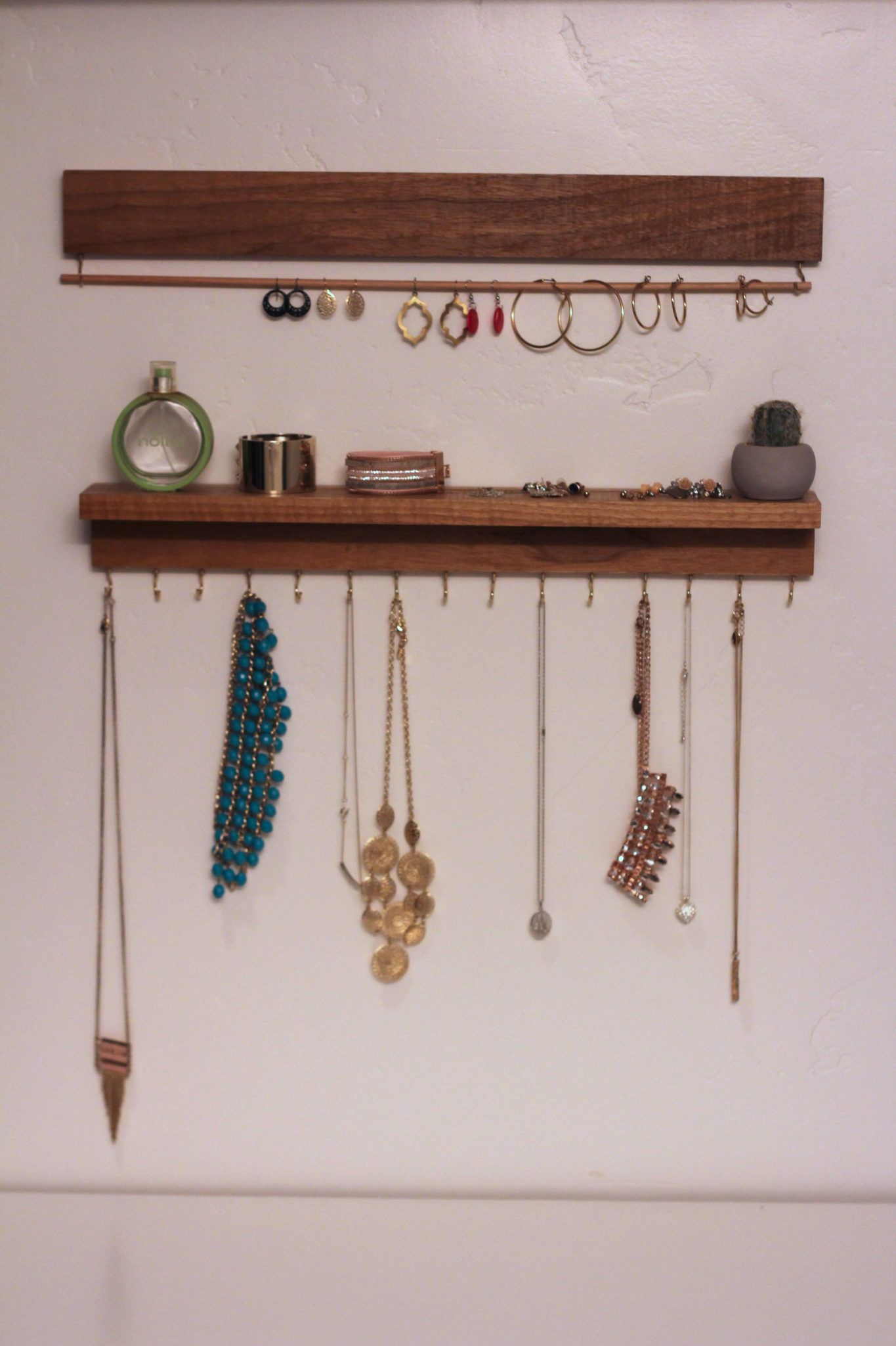 Diy Modern Jewelry Display  Konmari Inspired  Lou Lou