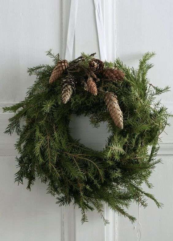 Photo of Ghirlande natalizie (Foto 15/21) | Designmag # decorazione natalizia avvento gru …