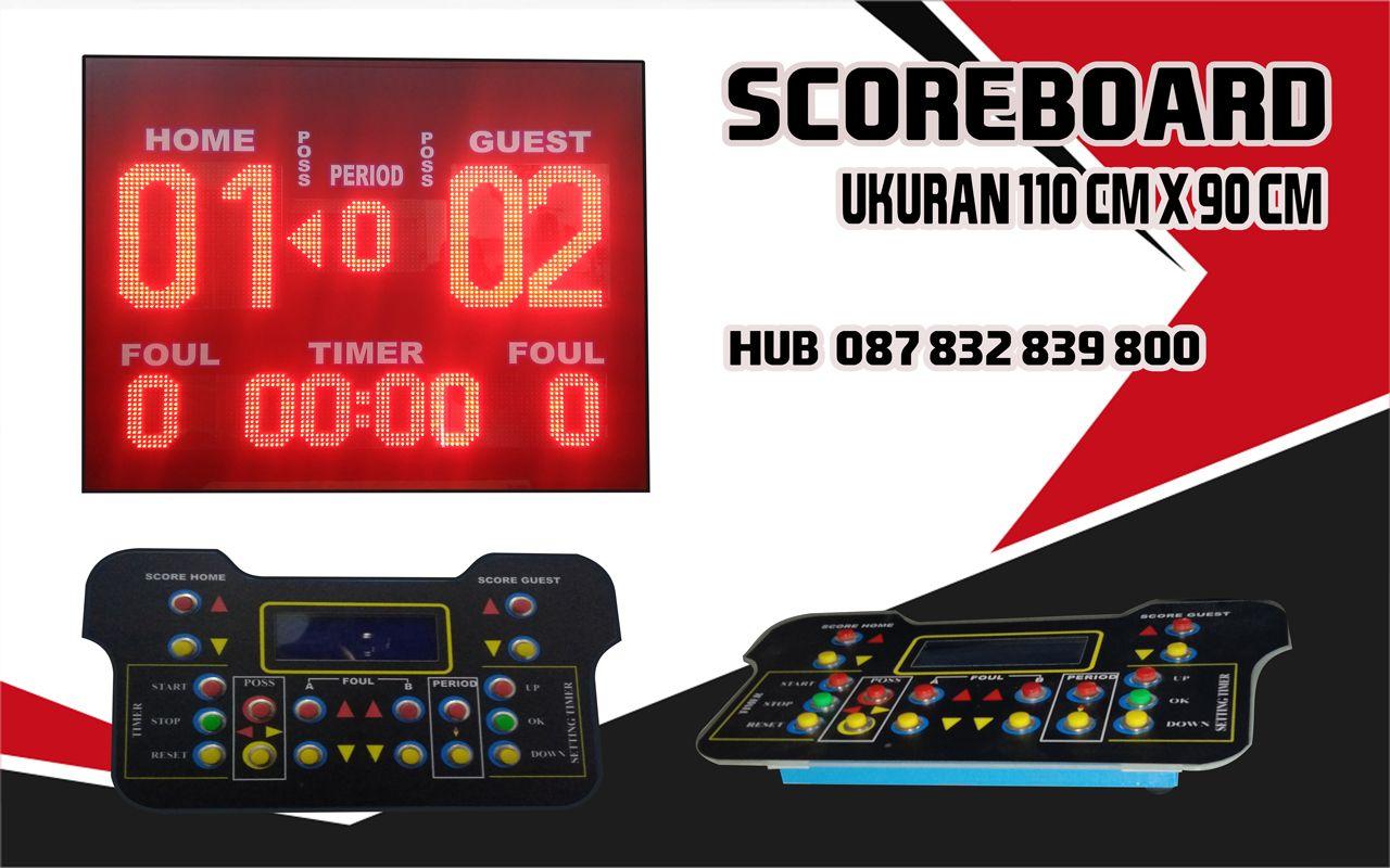 Scoreboard Wireles Komunikasi Pengukur Remote
