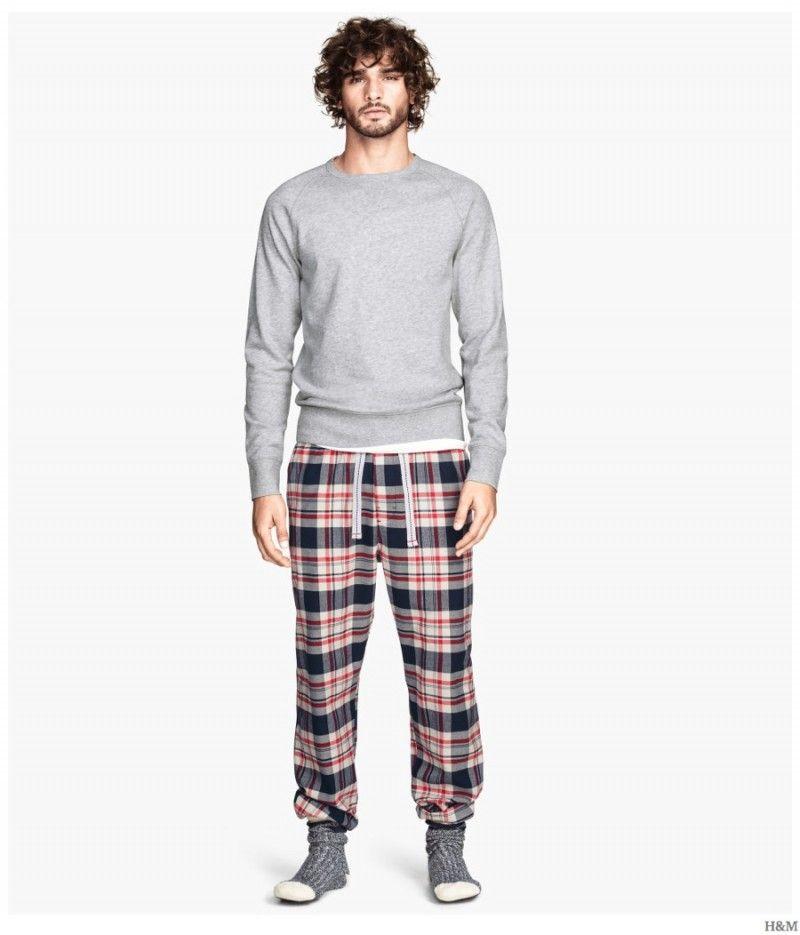 H M Highlights Cozy Classic Men S Loungewear Pajamas Mens