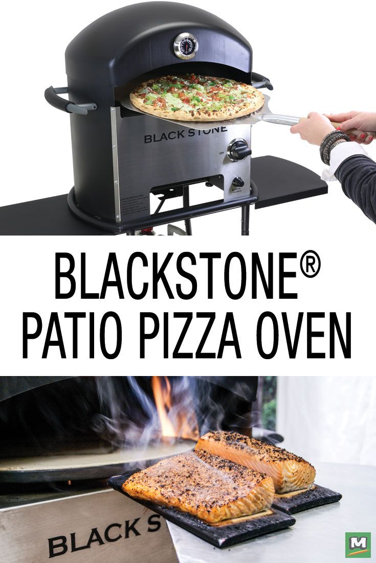 Turn Your Patio Into A Backyard Pizzeria With The Blackstone® Patio Pizza  Oven. Featuring