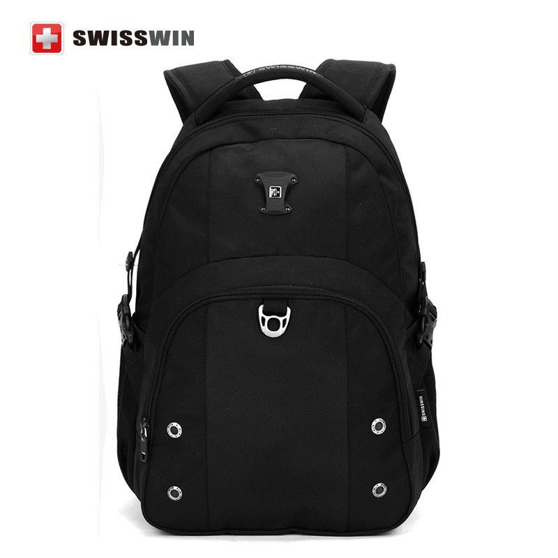 """Swisswin 15"""" Computer bag backpack Men's Waterproof Laptop Backpack for Bussiness and Students 30L Travel Backpack for Women"""