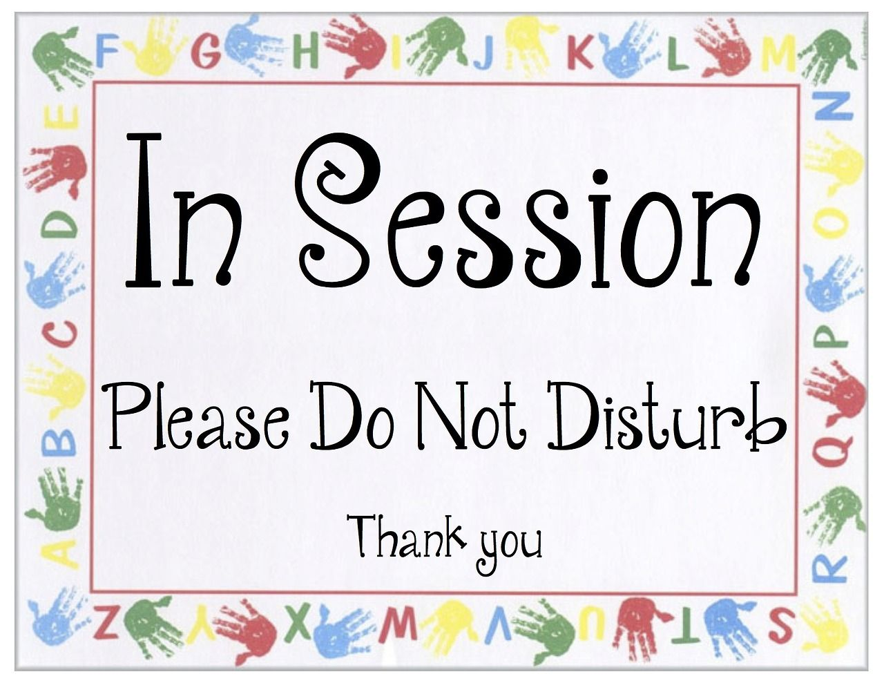 do not disturb sign child therapy office ideas pinterest