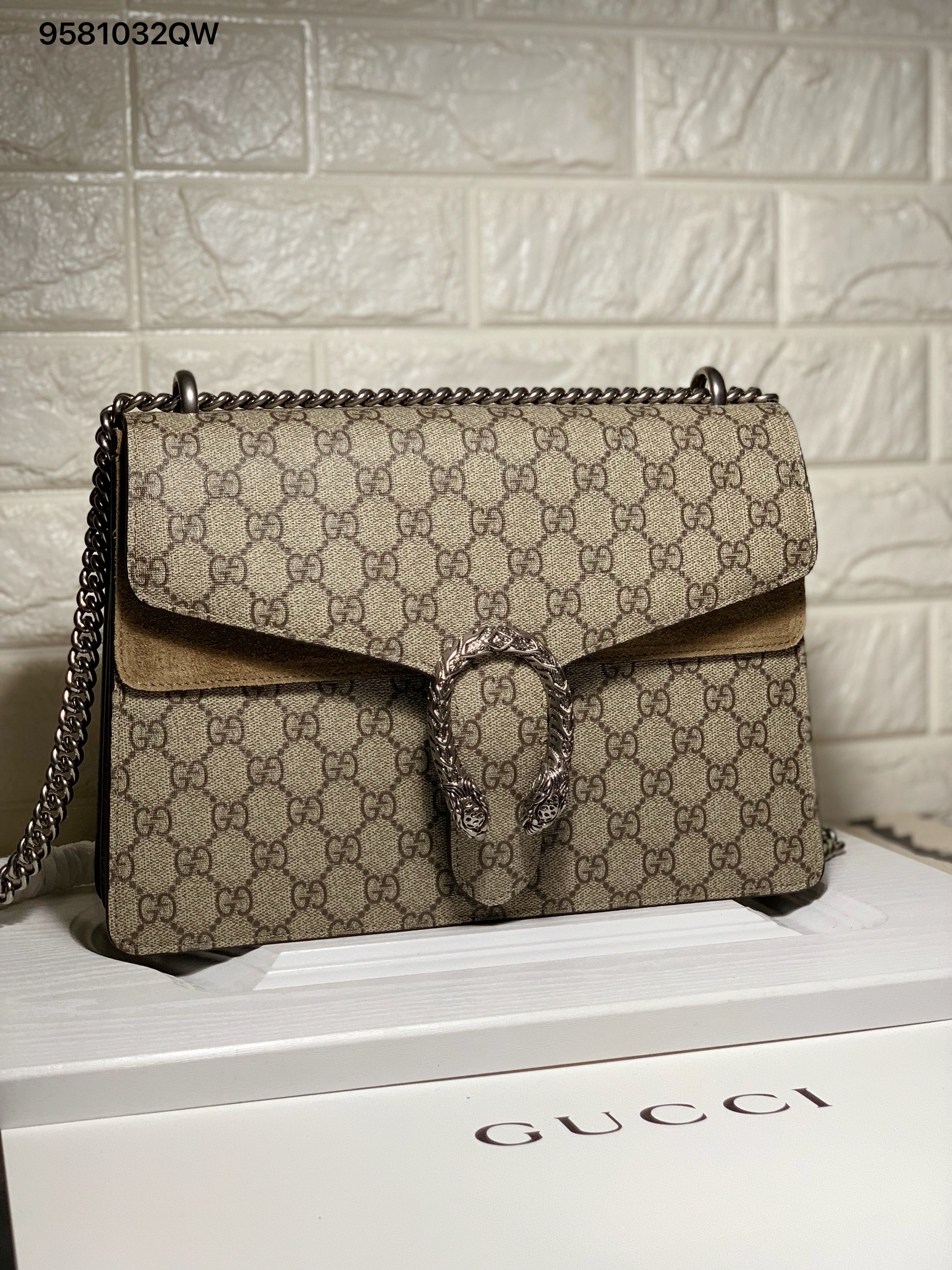 75dd94b95 Gucci Dionysus chain shoulder bag large 31cm nude | Gucci bags in ...