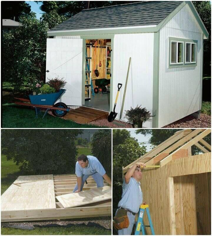 DIY Shed Plans - 36 Easy DIY Shed Designs for Your Home Shed Plans
