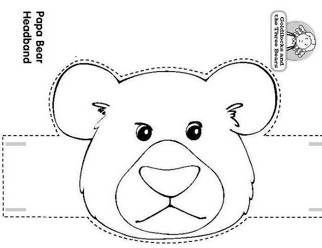 Craft A Fairy Tale Papa Bear Headband Goldilocks And The