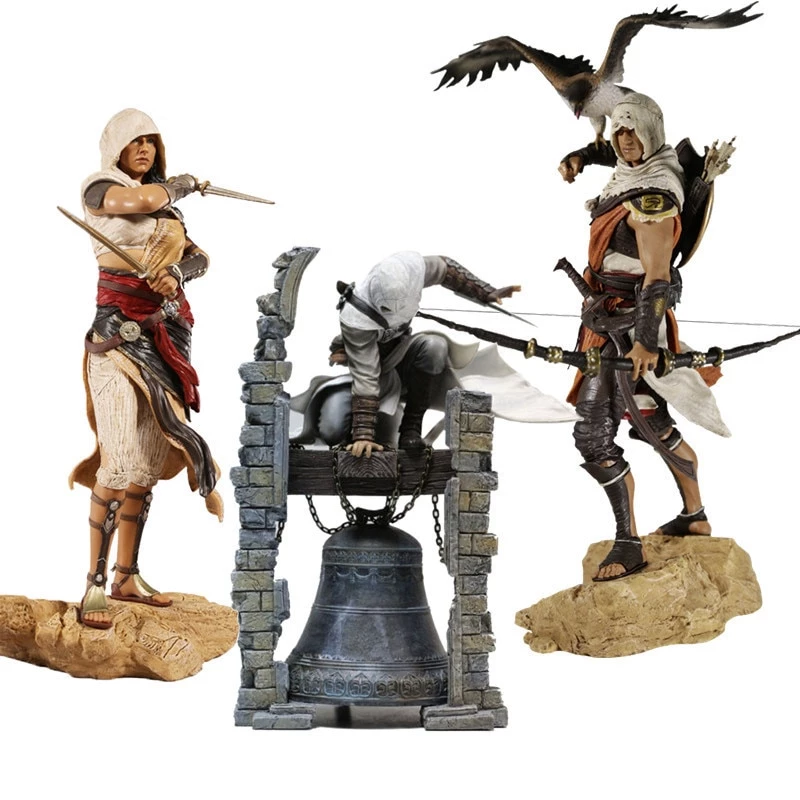 Assassin Creed Origins Bayek Aya Altair Action Figure Assassins