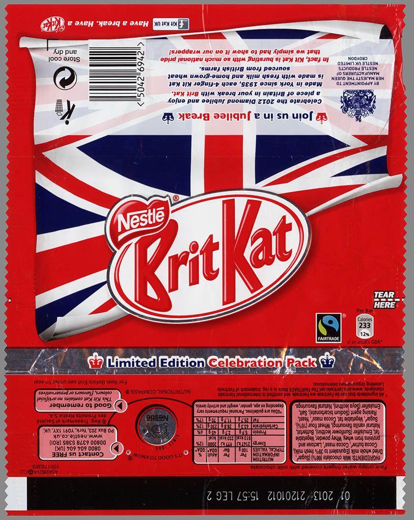 CC_UK - Nestle - Kit Kat - Brit Kat - Jubilee chocolate bar ...