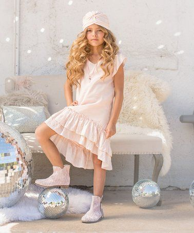 Look what I found on #zulily! Blush Beatrix Dress - Toddler & Girls #zulilyfinds