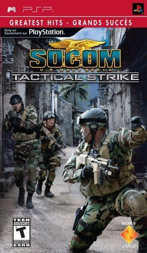 jeux socom us navy seals tactical strike psp iso