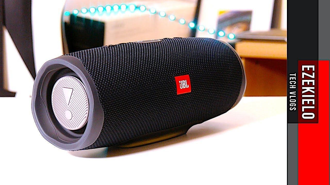 Jbl Charge 4 Quick Unboxing Sound Test Binaural Recording Jbl Jbl Charge Portable Speaker