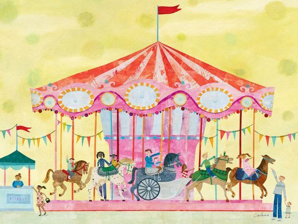 Carousel Canvas Art