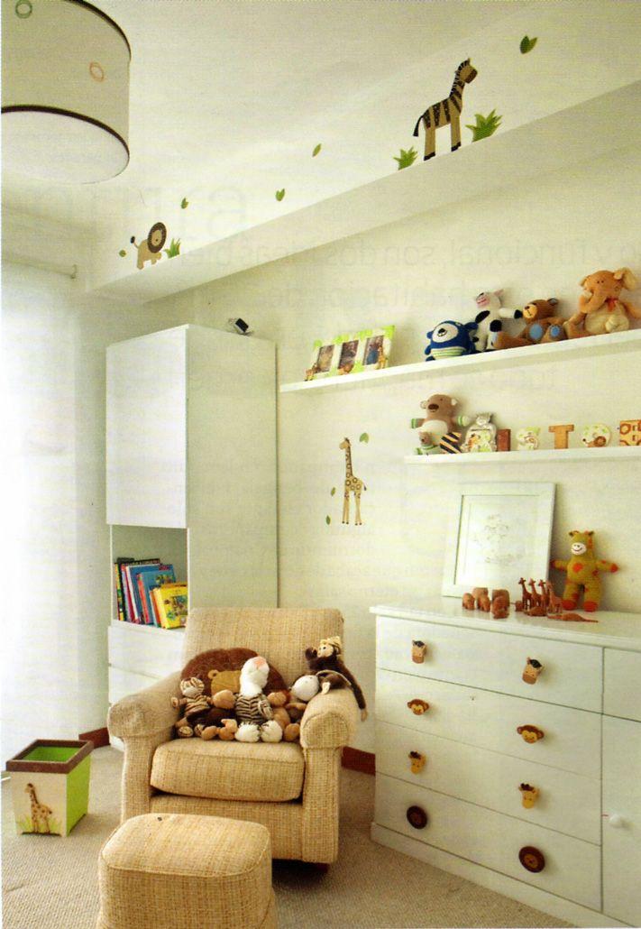 Dormitorios de bebes y ni os peque os dormitorios - Habitaciones decoradas para ninos ...