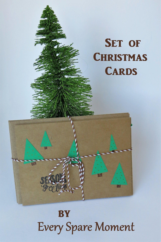 Handmade Christmas Cards Boxed Set, Christmas Cards Handmade ...