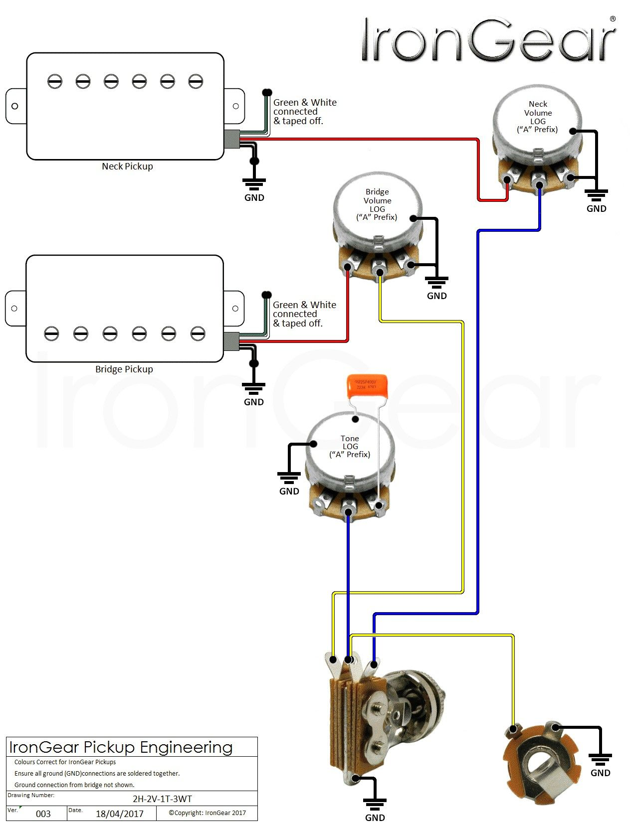 Guitar Wiring Diagrams 1 Pickup No Volume Lukaszmira Com For Imagem Do Espaco Musica