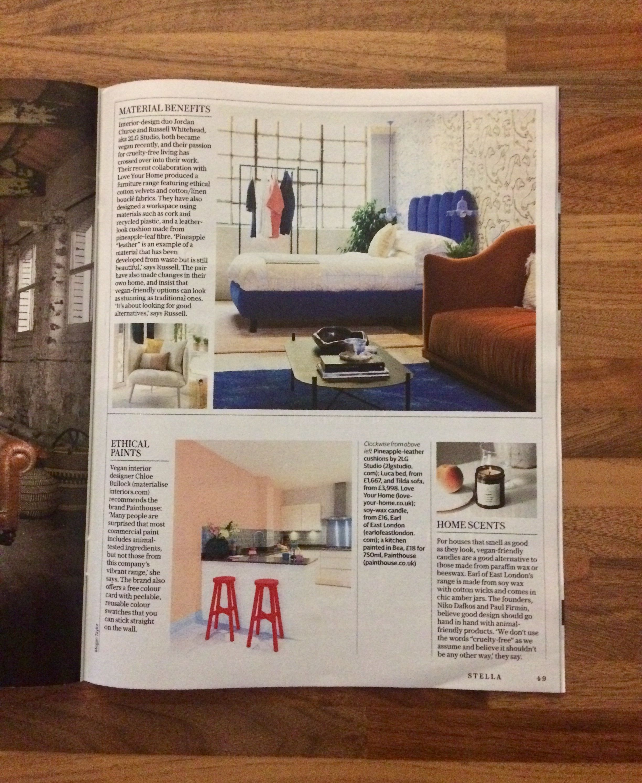 The Telegraph S Stella Magazine January 2019 Title Chloe